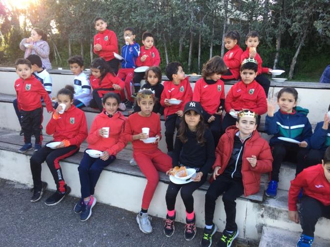 Bastia : Galette de Rois sportive pour les enfants de l'AJB
