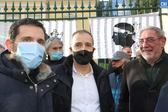 Jean-Guy Talamoni était présent (Photo Michel Luccioni)