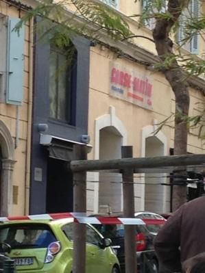 Alerte à la bombe à Corse-Matin