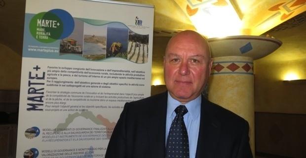 Roberto Barechello, représentant du département agriculture de la région ligure