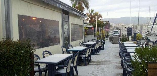 Tempête de grêle sur Ajaccio et risque de verglas sur la Corse