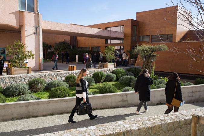 Le Campus Mariani par Raphaël Poletti.