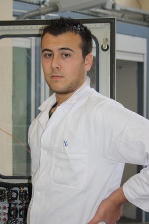 Brice di Ciccio, 20 ans, a rejoint la filière Electrotechnique du Lycée Jules Antonini après des études en STI Génie Mécanique qui ne correspondaient pas à ses attentes. (Photo : Marilyne Santi)
