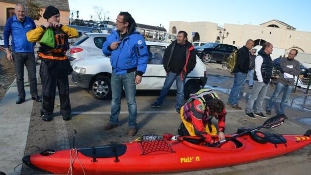 Un kayakiste suisse chavire au large de Bastia, la SNSM le récupère