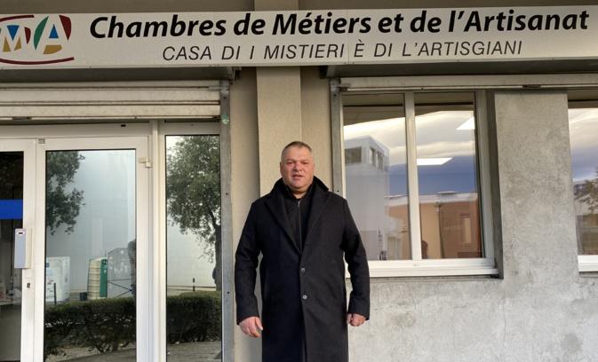 Jean-Charles Martinelli devient président de la chambre régionale des métier et de l'Artisanat.