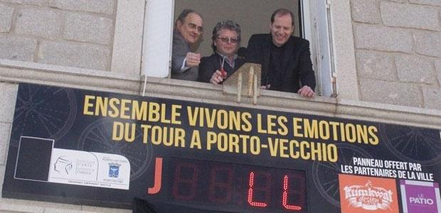Tour de France 2013 : Le compte à rebours a commencé à Porto-Vecchio