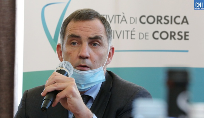 Le président du conseil Exécutif de Corse Gilles Simeoni. Photos : Michel Luccioni