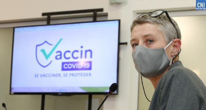 La directrice de l'ARS Marie-Hélène Lecenne. Photo : Michel Luccioni.