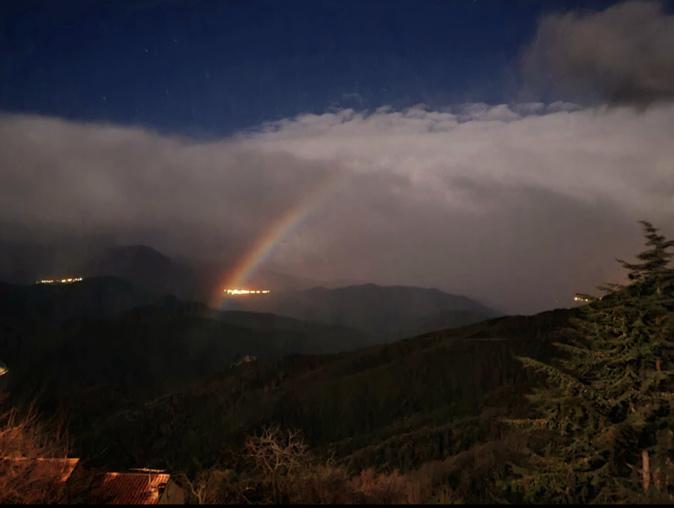 Un arc-en-ciel lunaire observé à Piedicorte-di-Gaggio
