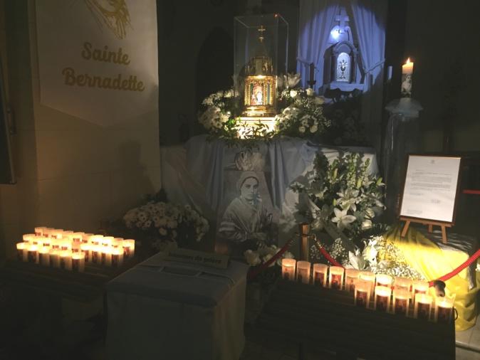 La relique recoit jusqu'au 18 février les intentions de prière