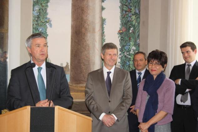 Le départ d'Eric Maire secrétaire général de la préfecture de Corse-du-Sud