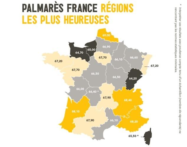 Le classement de l'IRB région par région (Capture d'écran IRB.)