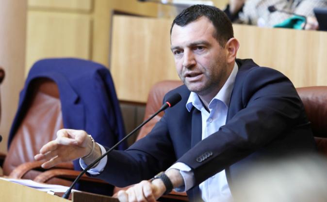 Jean-Charles Orsucci, maire de Bunifaziu, président du groupe LREM Andà per Dumane à l'Assemblée de Corse. Photo Michel Luccioni.