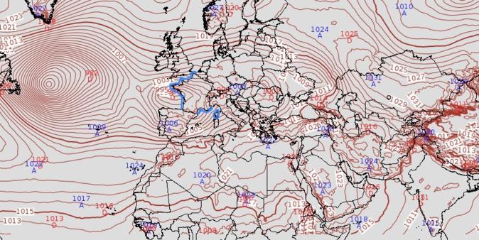 Météo de la semaine en Corse  : Temps venté et capricieux