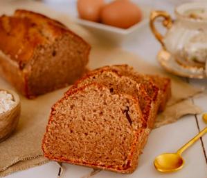 A table : la recette du moelleux à la farine de châtaigne avec... la Petite Cuisine de Marie