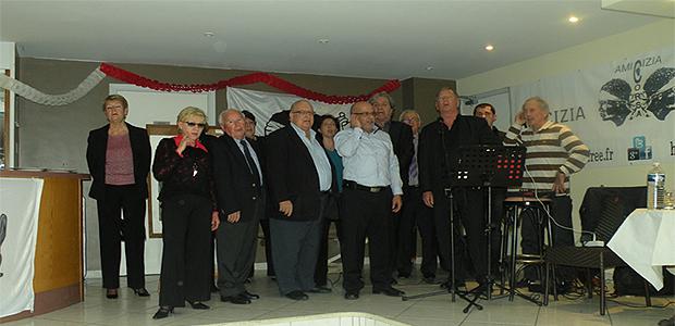 Amicizia Corsa : Commémoration du débarquement de Napoléon à Golfe-Jjuan