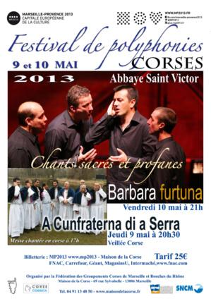 Festival de Polyphonies Corse à l'Abbaye Saint-Victor