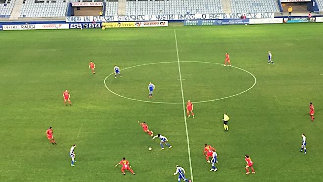 Football National : le Sporting souffre mais s'impose face au Mans (1-0)