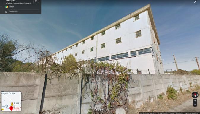 Le centre pénitentiaire de Toulon -La Farlède. Photo : google map