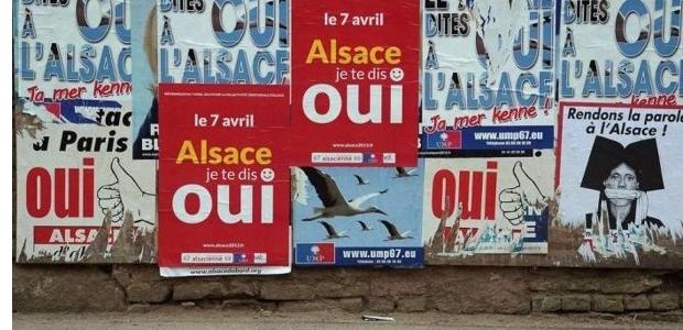 """Référendum : L'Alsace dit """"non"""" à la collectivité unique"""