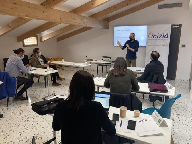 Trois jours de formation pour les entrepreneurs du programme Pass'Inizià.