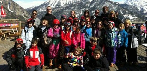 Classe de neige à Serre-Chevalier pour l école Loviconi de Calvi