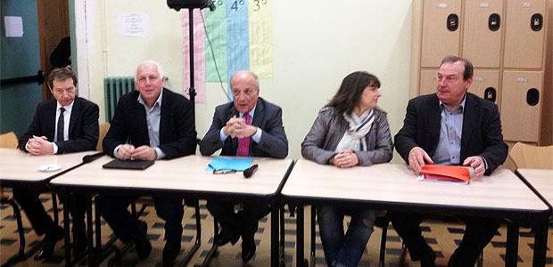 """La Commission """"violences"""" à l'écoute des élèves et enseignants du Lycée Fesch"""