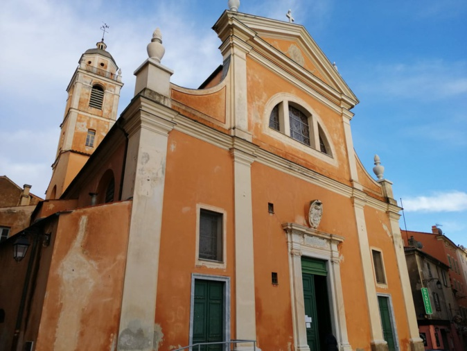 La cathédrale Santa Marie Assunta d'Ajaccio est classée Monument Historique depuis 1906. Crédits Photo : Pierre-Manuel Pescetti