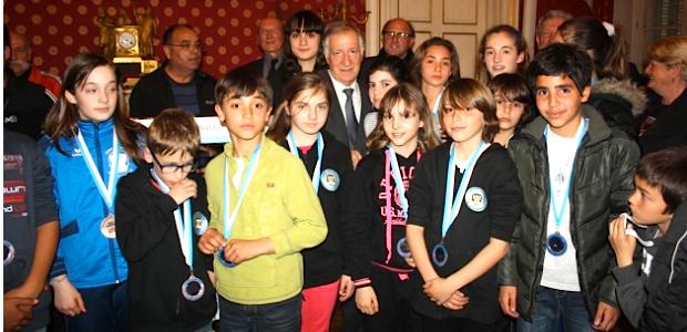 Une bien belle cérémonie qui a rendu hommage à tous les sportifs Ajacciens