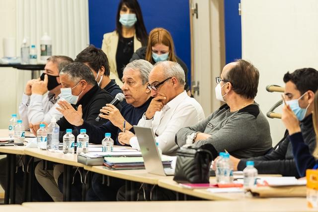 Premier conseil communautaire Calvi-Balagne de l'année  (Photos Eyefinity Prod/Kevin Guizol