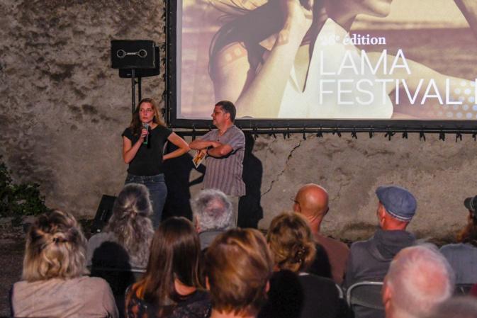 Mathilde Petit était venu présenter Shiny Happy People au Festival de Lama en 2019