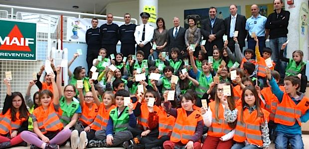 Ajaccio : Une action prévention MAIF à l'école de Mezzavia.