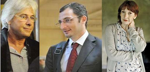 André Colonna d'Istria, Marc Simeoni et Patrizia Gattaceca