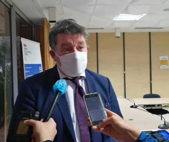 Le préfet de Haute-Corse François Ravier tire le bilan du couvre-feu à 18 heures après un mois d'application. Un dispositif efficace selon lui qui a permis d'éviter que la situation ne se dégrade.