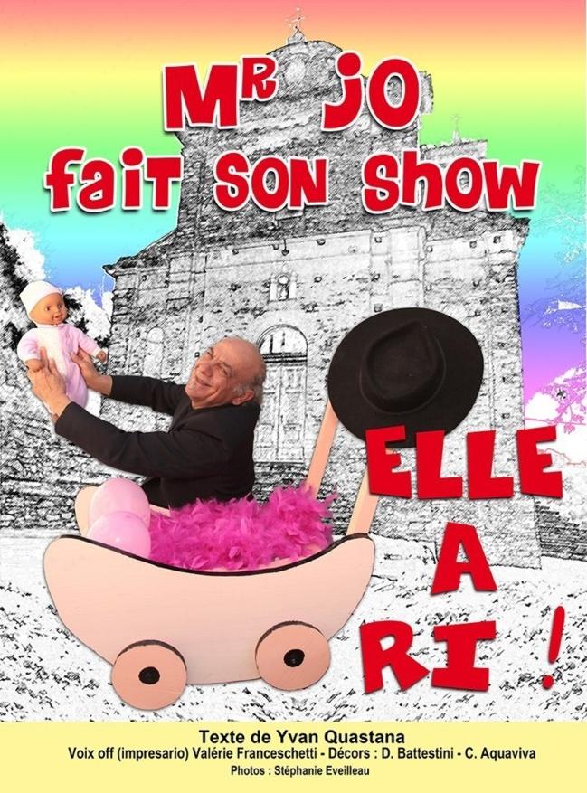 Bastia : Mr Jo au Théâtre Sant'Angelo