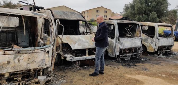 Lionel Mortini a condamné fermement cet acte criminel
