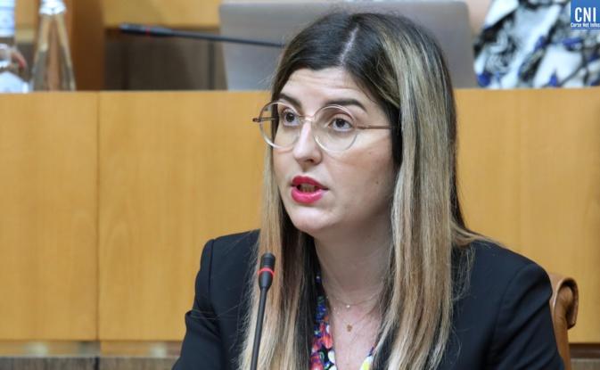 Lauda Guidicelli, conseillère territoriale en charge de l'égalité femmes-hommes. Photo : Michel Luccioni