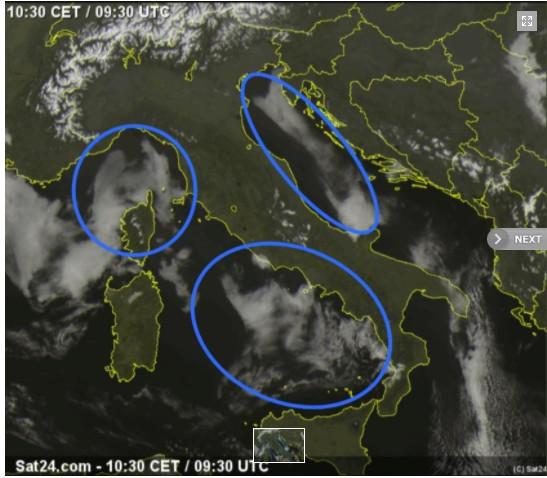 Météo, particules fines, cendres de l'Etna... Quelles sont les causes - réelles - du brouillard en Corse ?