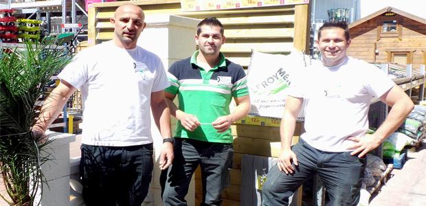 Ludo Conte, Remi Fouilloud, Clément Hamelle (de gauche à droite) : L'expérience de Bastia XV