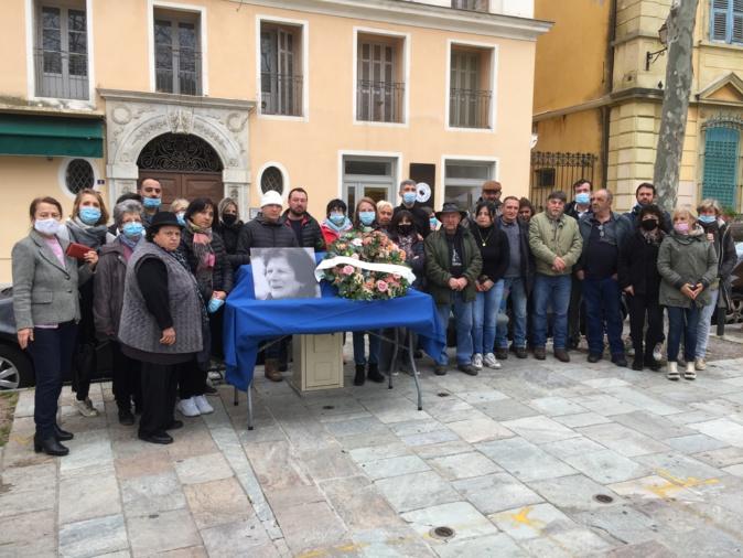 L'hommage de Bastia à Catherine Viacara, figure emblématique du marché