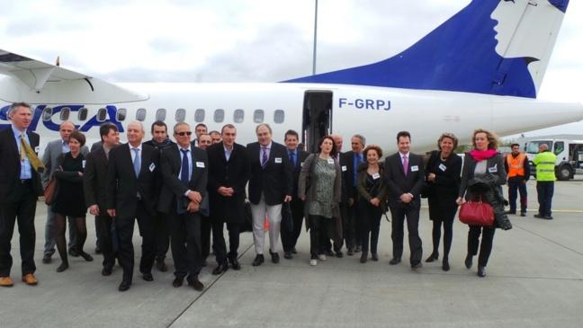 Air Corsica se pose désormais à Toulouse