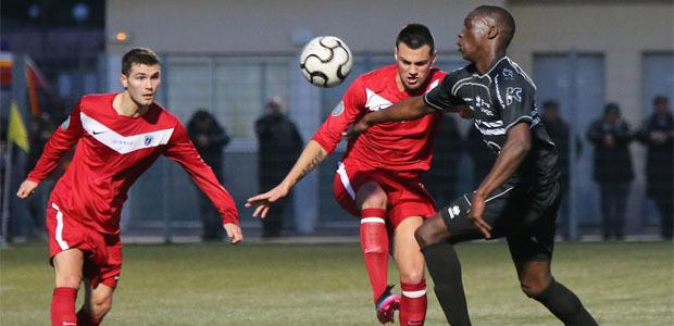 Le CAB balayé à Boulogne (4-1)