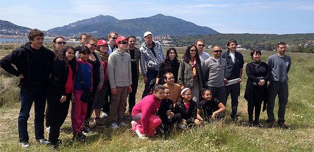 """""""Citoyens du Grand Bleu"""" avec le conseil général de la Corse-du-Sud et le Sessad"""