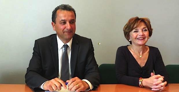 François Tatti et Pascaline Castellani, élus territoriaux du groupe La Gauche Républicaine