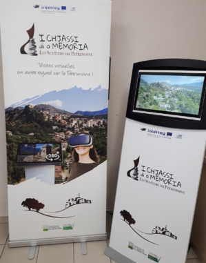 Sentiers du Patrimoine : Des équipements multimédias pour favoriser l'accès aux Chjassi di a Memoria