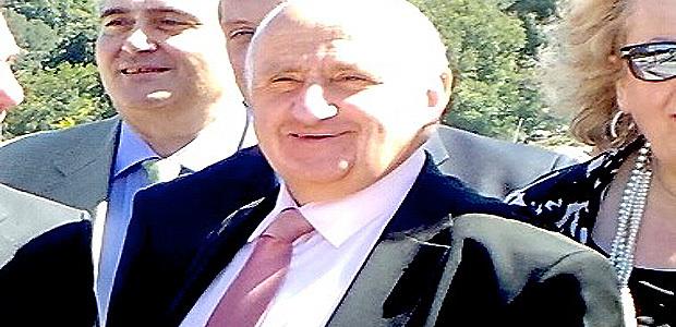 Jean-Luc Chiappini à Vico lors de l'inauguration du Pôle Environnemental  :  Sa dernière sortie officielle