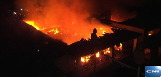 """Calvi : La discothèque """"L'Acapulco"""" détruite par un incendie"""
