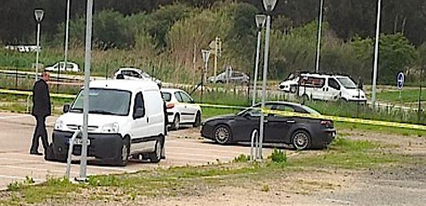 La voiture (noire) de Jean-Luc Chiappini