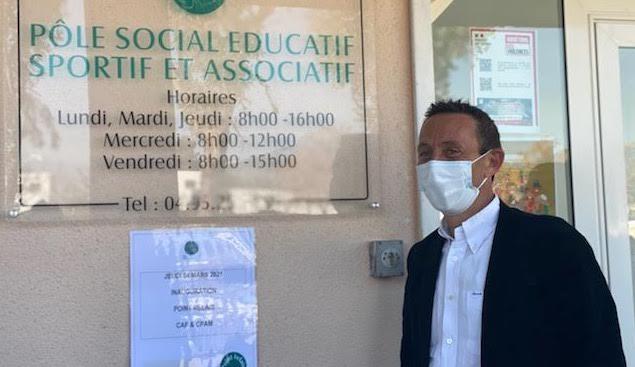 Sarrola-Carcopino : un point-relais de la CAF et de la CPAM au pôle social