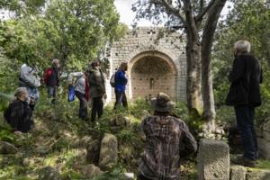 Eglise romane à Sotta. Photo JB Andreani.